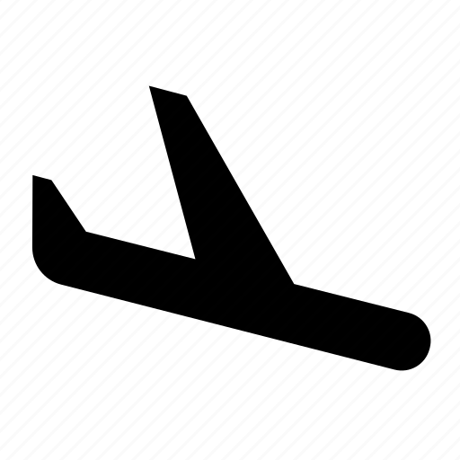 airport, fly, landing, plane icon