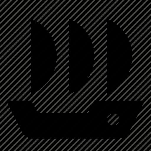 argosy, cargo, sailfish, ship, transport icon