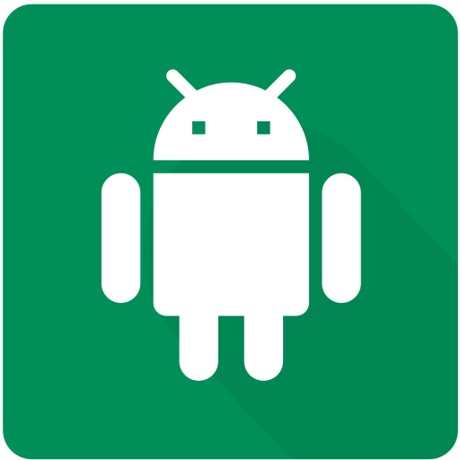 android, design, device, material, phone, smartphone, square icon
