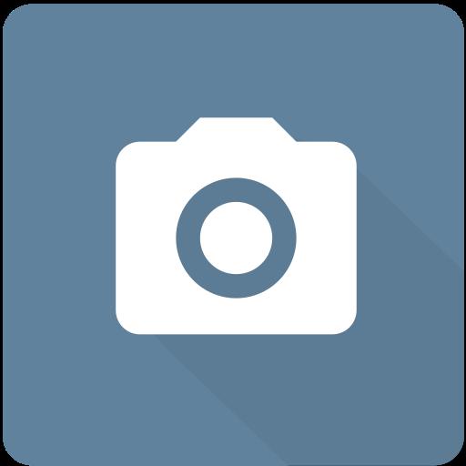 camera, design, material, photo, photography, square, video icon