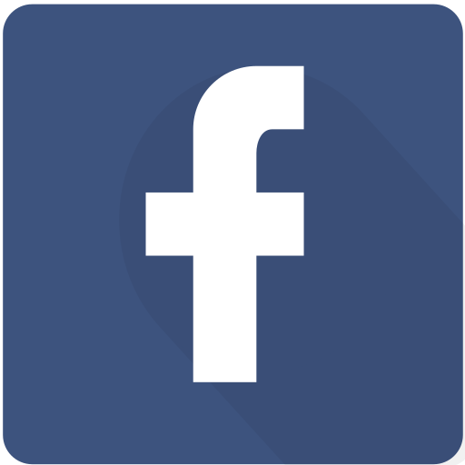 design, facebook, internet, material, network, social, square icon