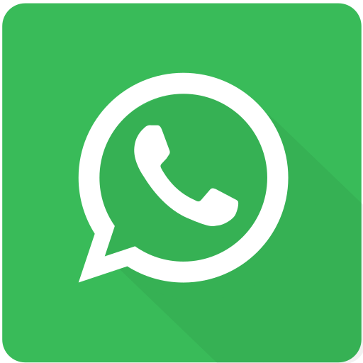 chat, communication, design, material, message, square, whatsapp icon