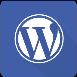 design, internet, material, square, web, website, wordpress icon