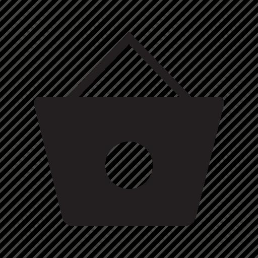 bag, carryings, circle, design, shopping icon