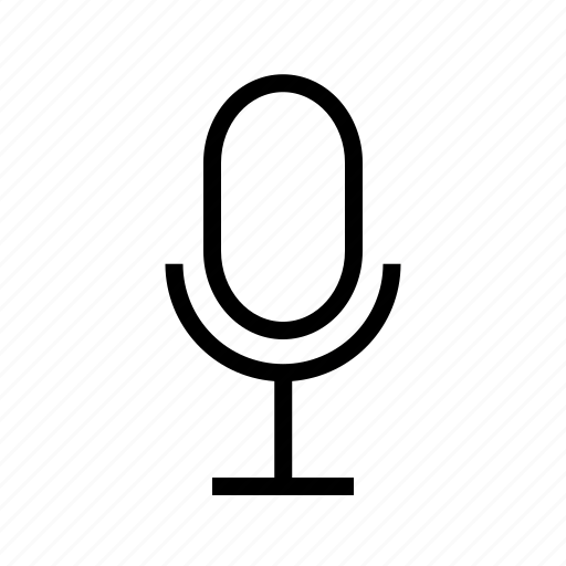 mic, noise, sound, speak, voice icon