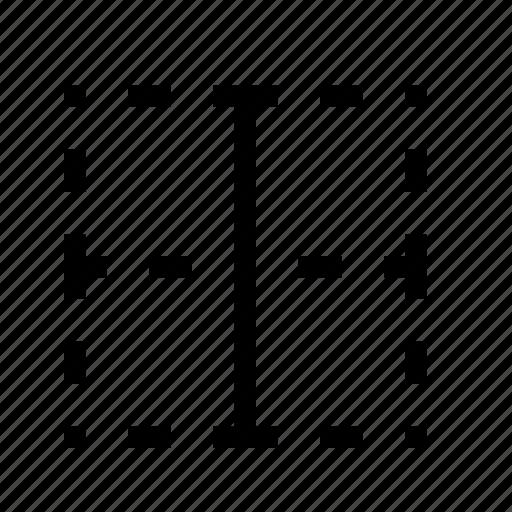 border, border vertical, format border, vertical icon
