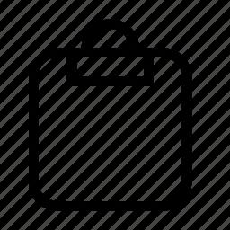 clipboard, clipboard blank, todo icon