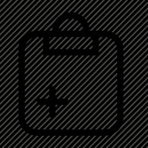 add, clipboard, clipboard add, new, task, todo icon
