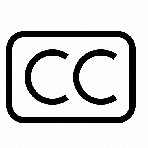 caption, closed caption, control, media, movie, video icon