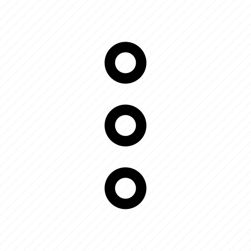 dots, vertical icon
