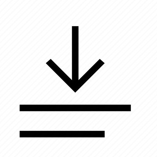 align, bottom, format icon