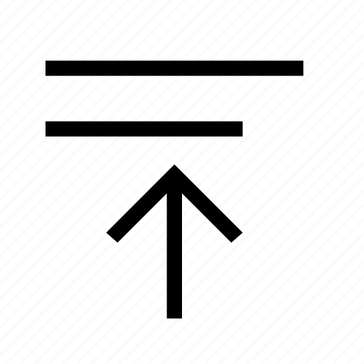 align, align top, format icon