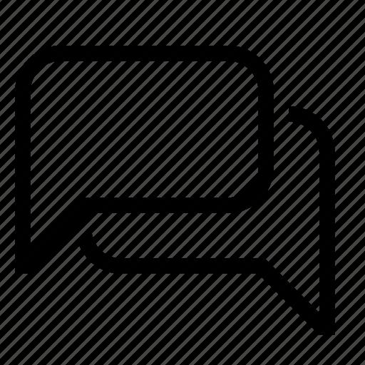 bubble, communication, dialog, forum icon