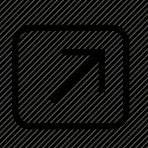 enlarge, expand, fullscreen, maximize icon