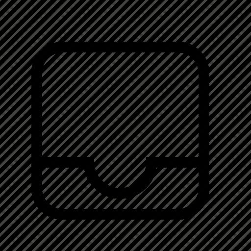 box, inbox icon