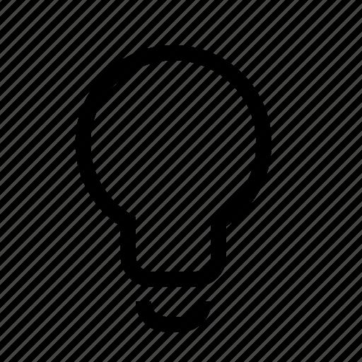 bulb, creative, lamp, light, lightbulb icon