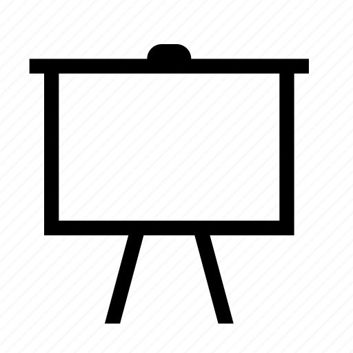 powerpoint, presentation, screen, slide, slideshow icon