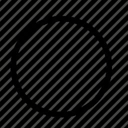circle, shape icon