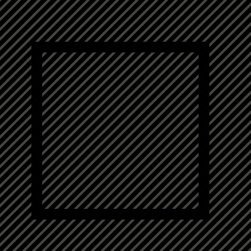 shape, square icon