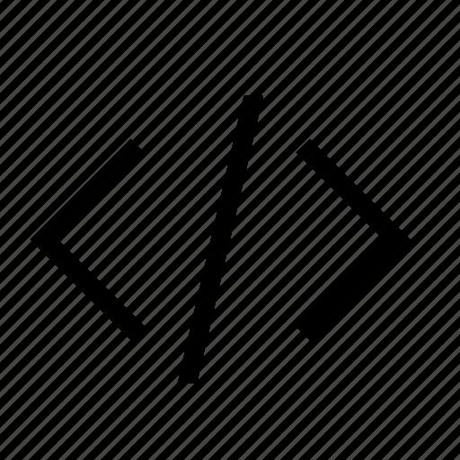 code, html, website, xml icon