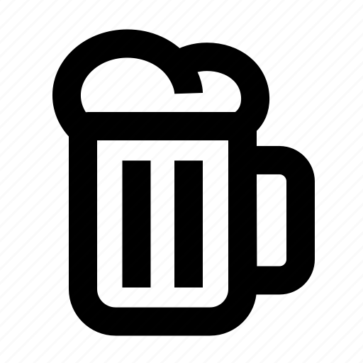 alcohol, beer, drink, glass, mug, party, pub icon