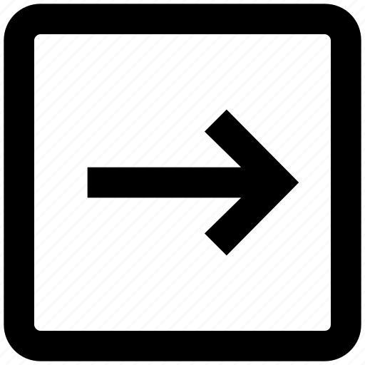 Arrow, box, forward, material, right, right arrow, square icon - Download on Iconfinder