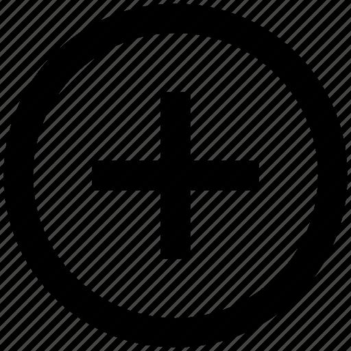 add, add circle, circle, new, plus icon