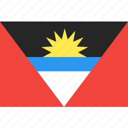 and, antigua, barbuda, country, flag, nation, world icon