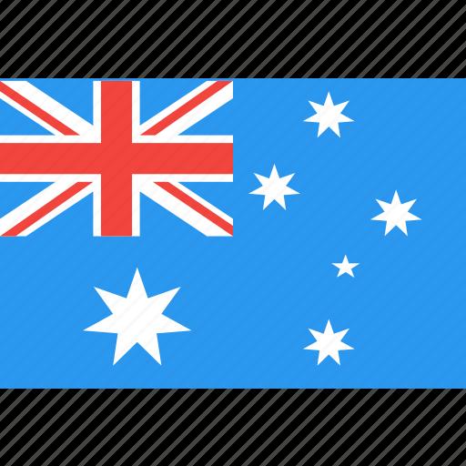 australia, country, flag, nation, world icon