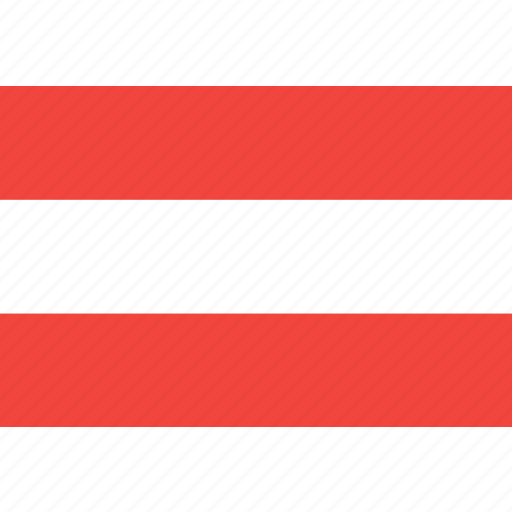 austria, country, flag, nation, world icon