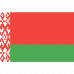 belarus, country, flag, nation, world icon