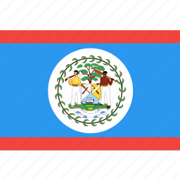 belize, country, flag, nation, world icon