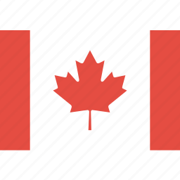 canada, country, flag, nation, world icon