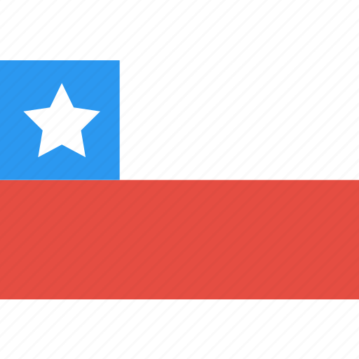 chile, country, flag, nation, world icon