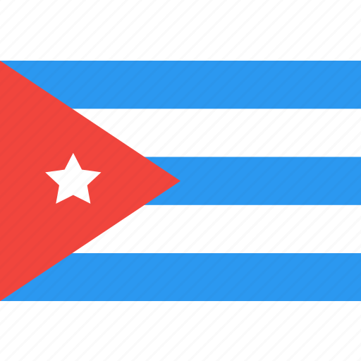 country, cuba, flag, nation, world icon
