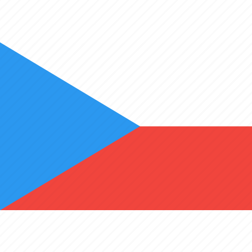 country, czech, flag, nation, republic, world icon