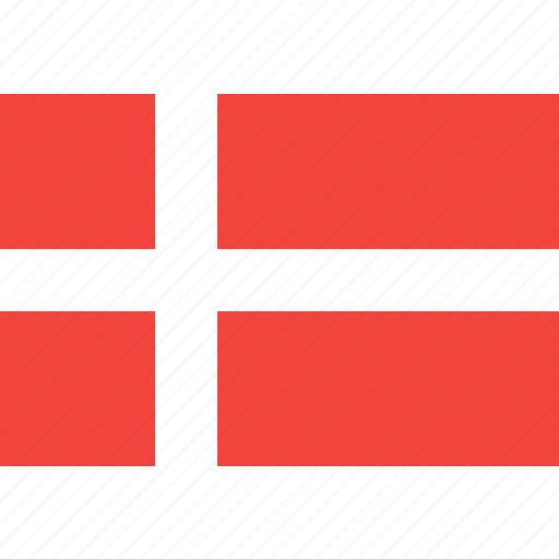 country, denmark, flag, nation, world icon