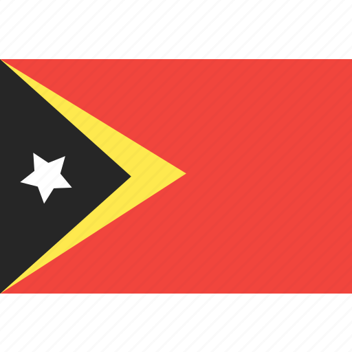 country, east, flag, nation, timor, world icon