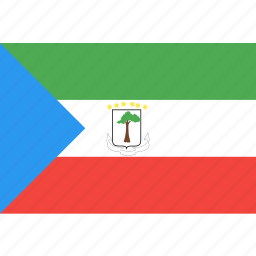 country, equatorial, flag, guinea, nation, world icon