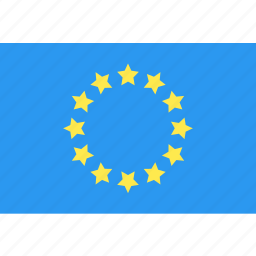country, europe, flag, nation, world icon