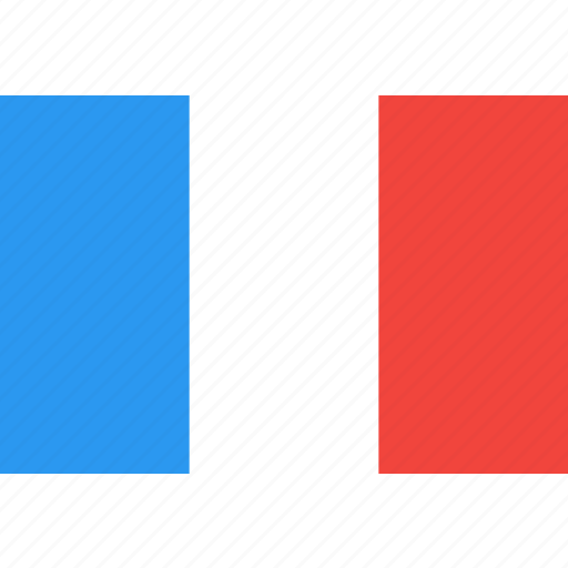 country, flag, france, nation, world icon