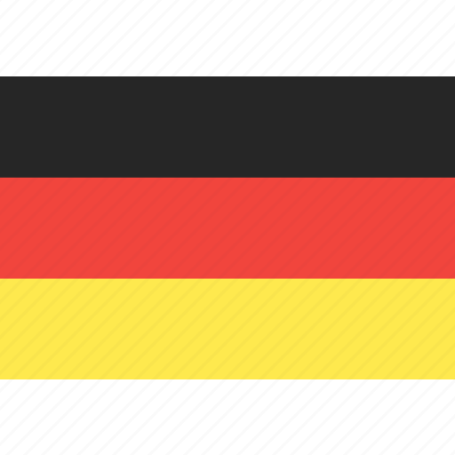 country, flag, germany, nation, world icon