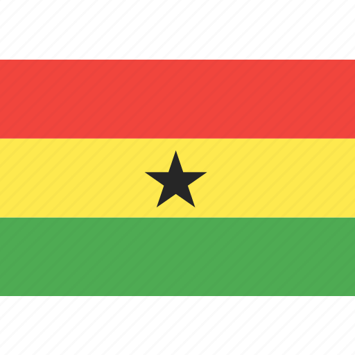 country, flag, ghana, nation, world icon