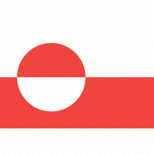 country, flag, greenland, nation, world icon