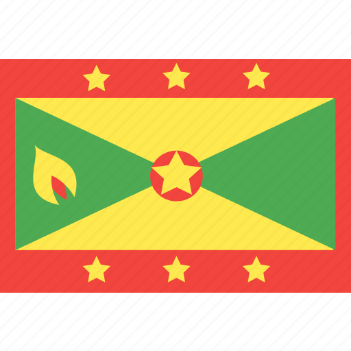 country, flag, grenada, nation, world icon