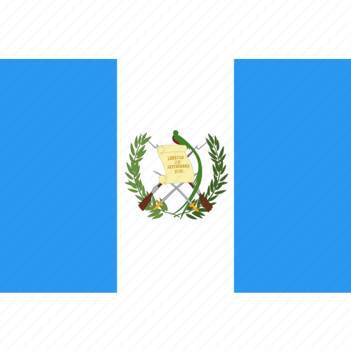 country, flag, guatemala, nation, world icon