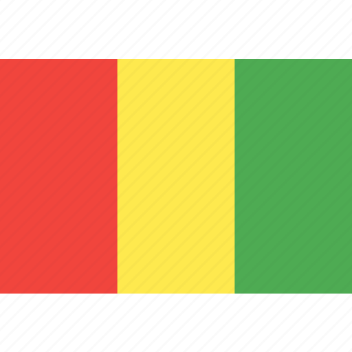 country, flag, guinea, nation, world icon