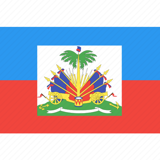 country, flag, haiti, nation, world icon