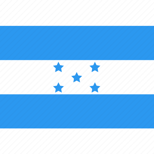 country, flag, honduras, nation, world icon