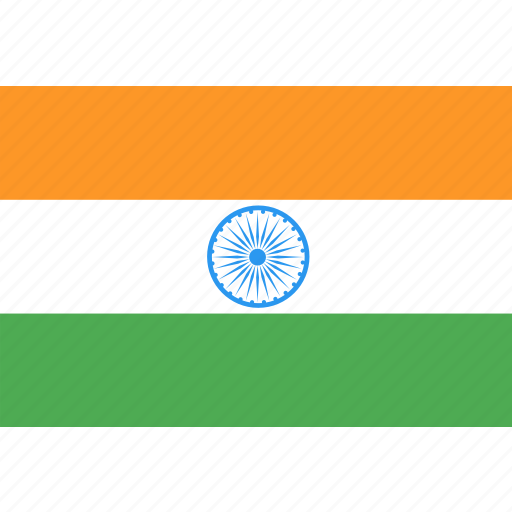 country, flag, india, nation, world icon